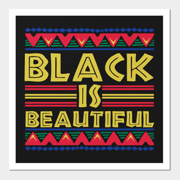 Black is Beautiful: African American T-Shirt for Men & Women ...