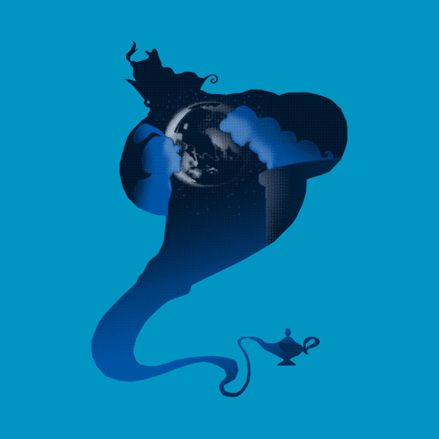 The Genie and the Moon