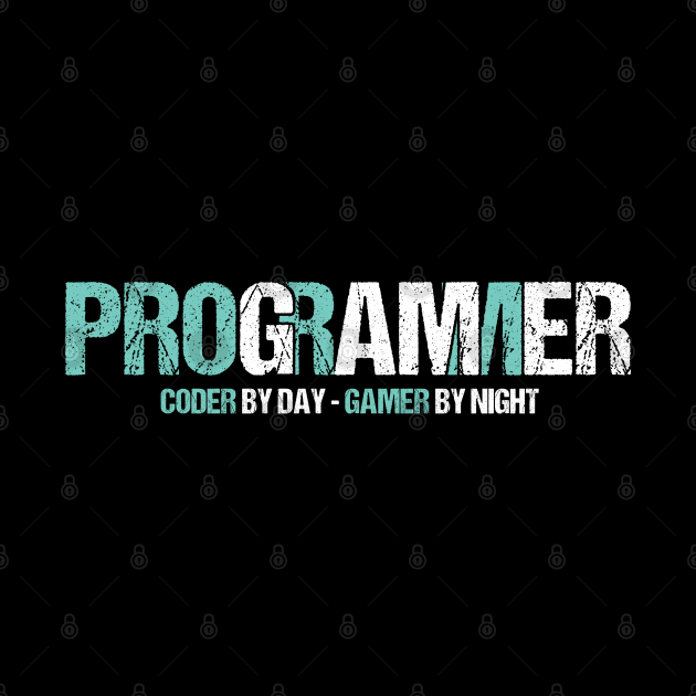 Programming Decipher Program Computer Technician Encoder Gift Programmer Coder By Day Gamer By Night