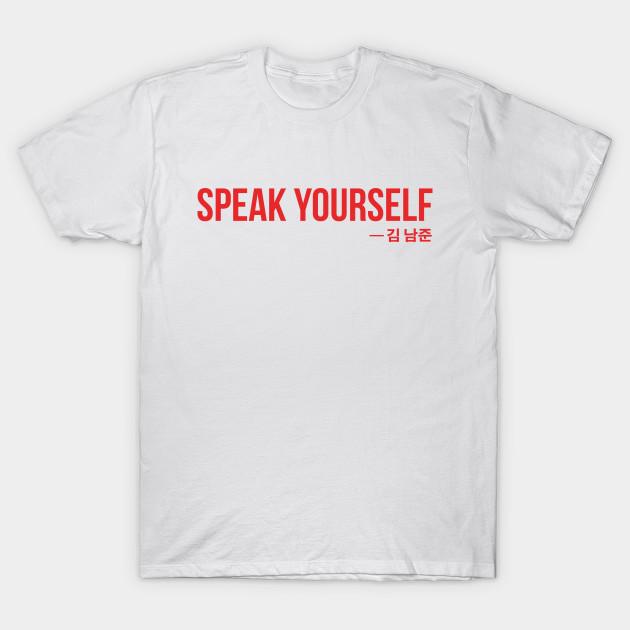 9c168469b5e SPEAK YOURSELF Red (BTS) - Bts - T-Shirt