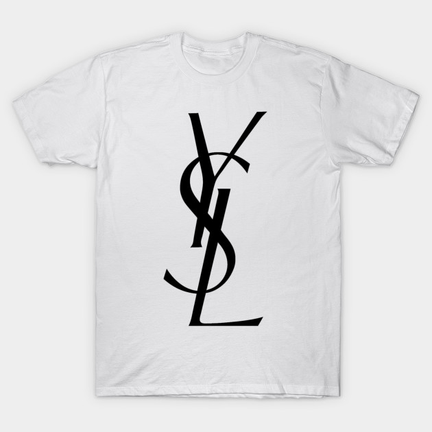 Ysl yves saint laurent logo ysl yves saint laurent logo for Who sells ysl t shirts