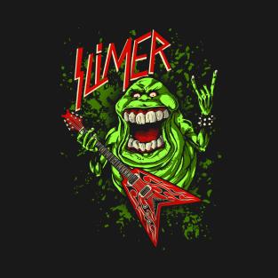 SLIMER THRASHIN' MAD t-shirts