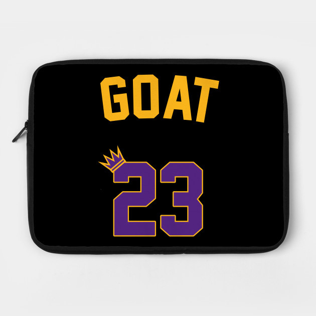 The Back of the GOAT's Jersey