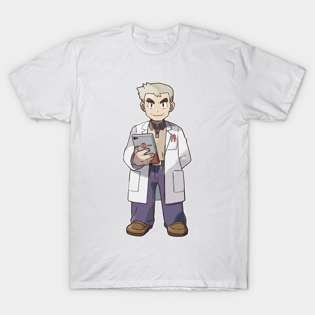 c2e6c5b696a8 Let s Go! Professor Oak - Pokemon - T-Shirt