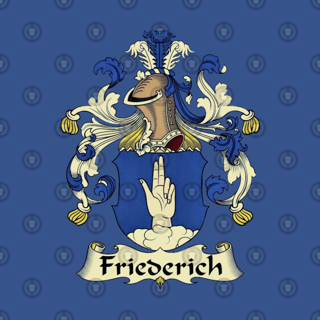 Friederich Family Coat-Of-Arms