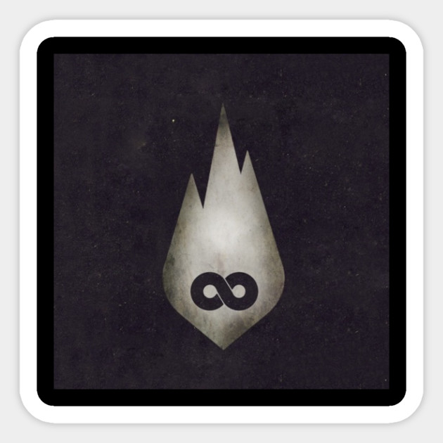 Tfk The End Is Where We Begin Thousand Foot Krutch Sticker