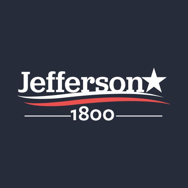 HAMILTON Musical THOMAS JEFFERSON 1800 Burr Election of 1800