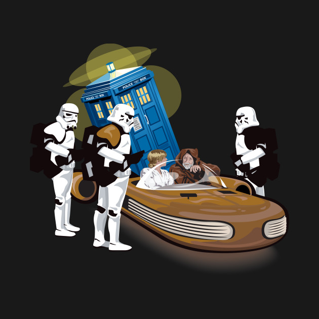 That's not the tardis you are looking for! Dr Who