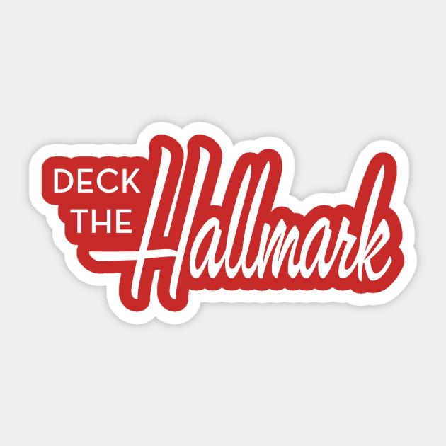 DtH Logo - Deckthehallmark - Sticker   TeePublic