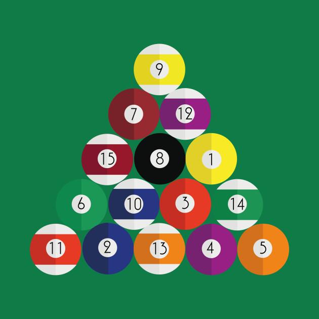 Pool Snooker Balls Design