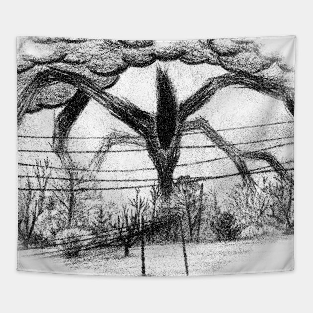 Will Drawing - Stranger Things - Tapestry