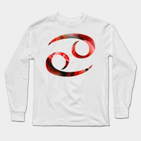 e4bfcf69 Cancer Zodiac Sign Long Sleeve T-Shirts | TeePublic