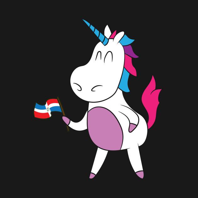 Dominican Republic Shirt | Patriotic Unicorn Flag Gift