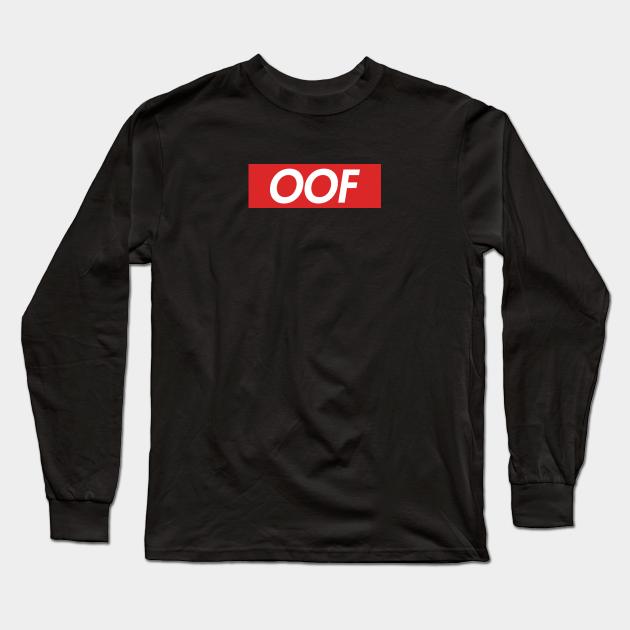 Roblox Oof Roblox Long Sleeve T Shirt By Avemathrone Ppc8ftu02pdgrm