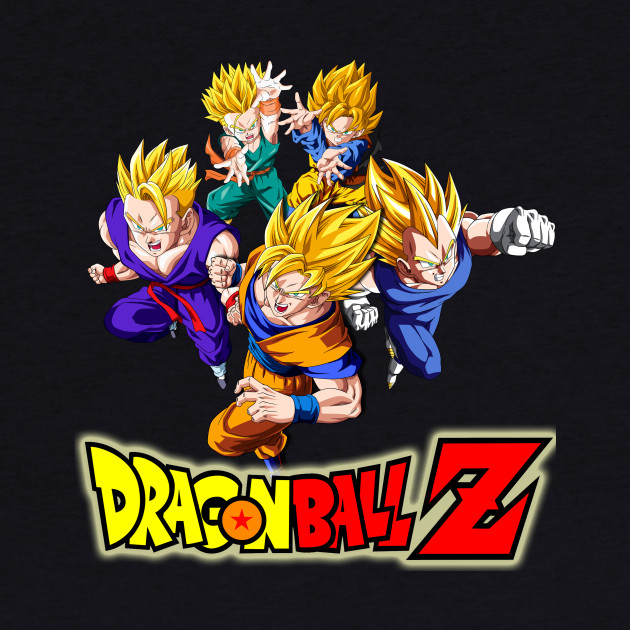 Dragon Ball Z Saiyans