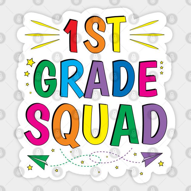 First Grade Teacher Team 1st Grade Squad - First Grade Teacher ...