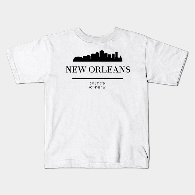 New Orleans Skyline T-Shirt Men Women Youth Tank Long Sleeve Personalized Tee