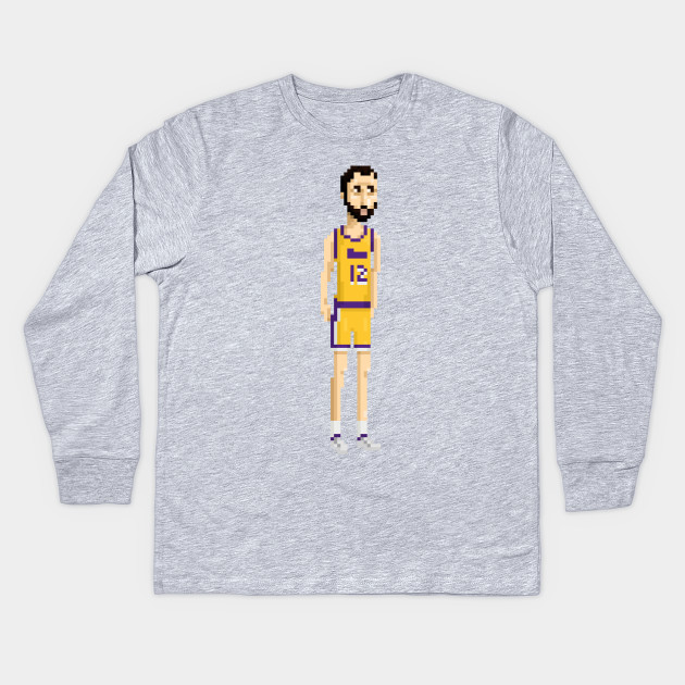 dd71d6b05 Vlade D - Los Angeles Lakers - Kids Long Sleeve T-Shirt