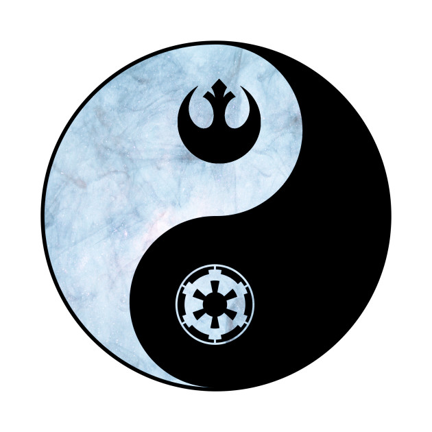 Empire and Rebel Yin yang