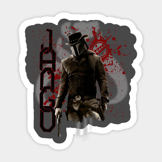 Jango fett sticker
