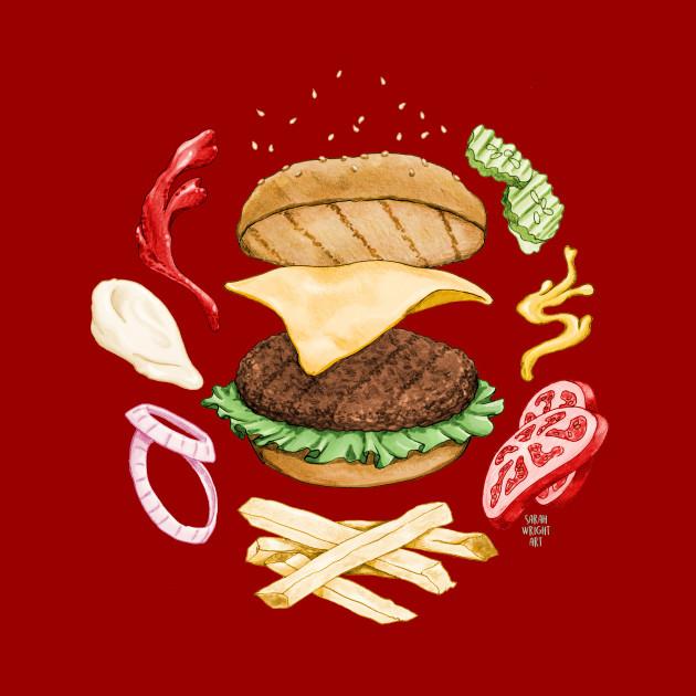 Burger Mandala