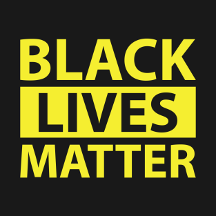 BLACK LIVES MATTER YELLOW SHIRT