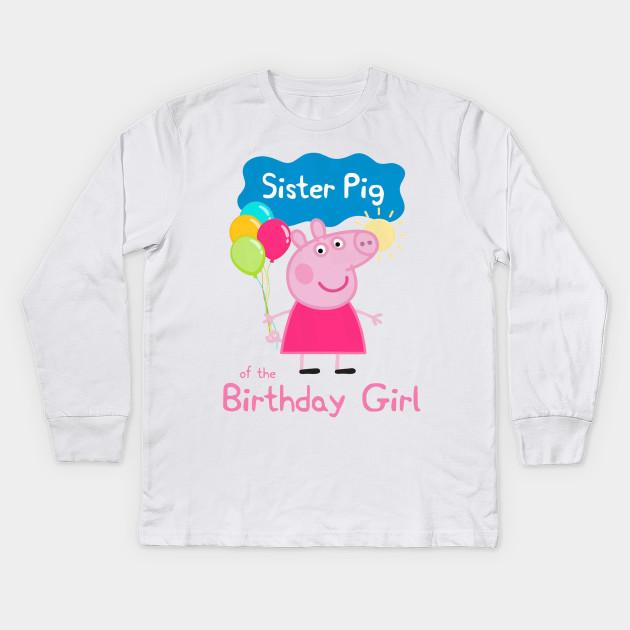 f64e5f8a0 Peppa Pig : Sister Pig of the Birthday Girl - Peppa Pig - Kids Long ...