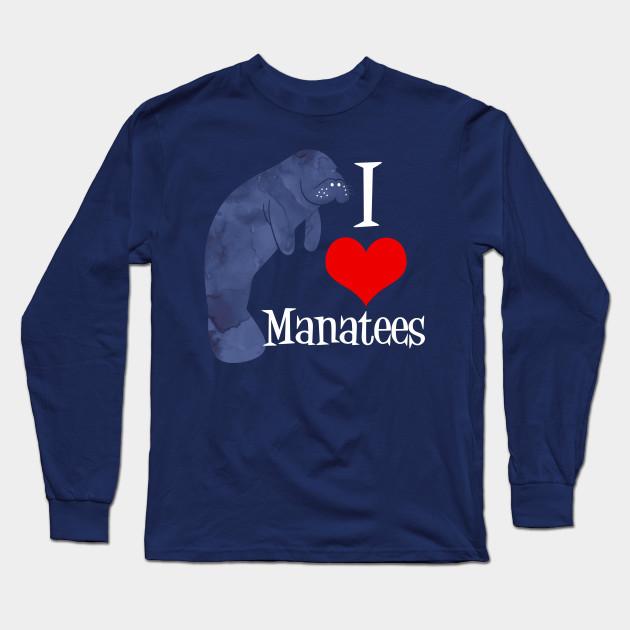 I Love Heart Manatees T-Shirt