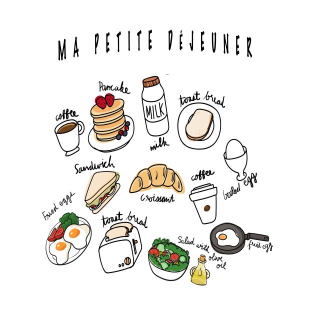 Cute Graphic Breakfast Club