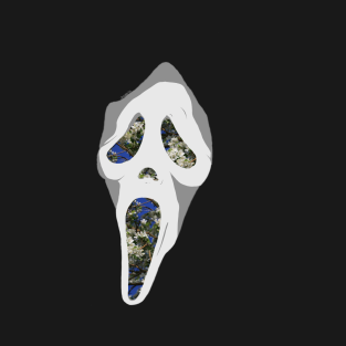 Ghostface aesthetic t-shirts