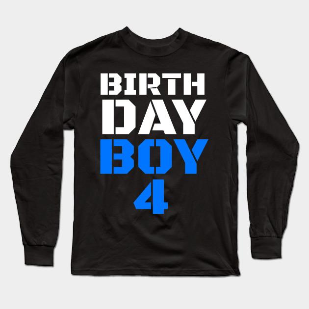 Birthday Boy 4 Shirt Outfit Shirts