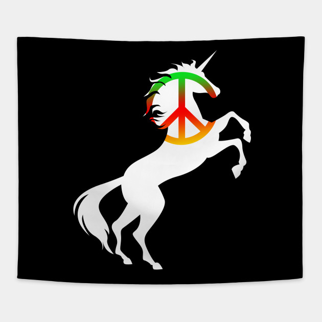 Peace Symbol Unicorn Cool Harmony Magical Unicorn Design Peace