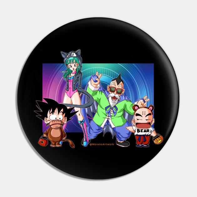 Dragon Ball Halloween (Kid Goku, Krillin, Bluma, Roshi) ドラゴンボール