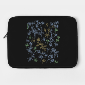 quality design f2987 062ae Wildflower Laptop Cases | TeePublic