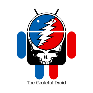 The Grateful Droid t-shirts