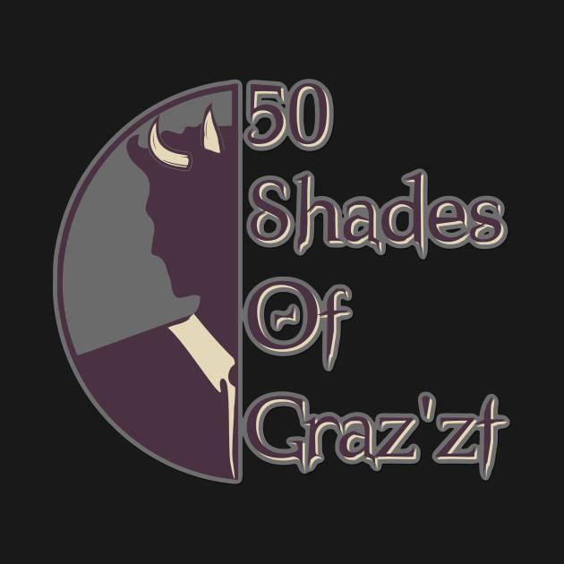 D&D Tee - 50 Shades of Graz'zt