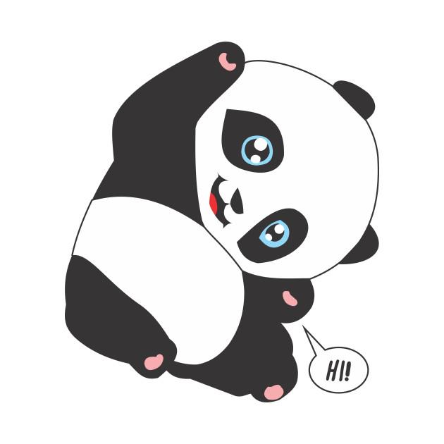 Panda Bear Say HI!