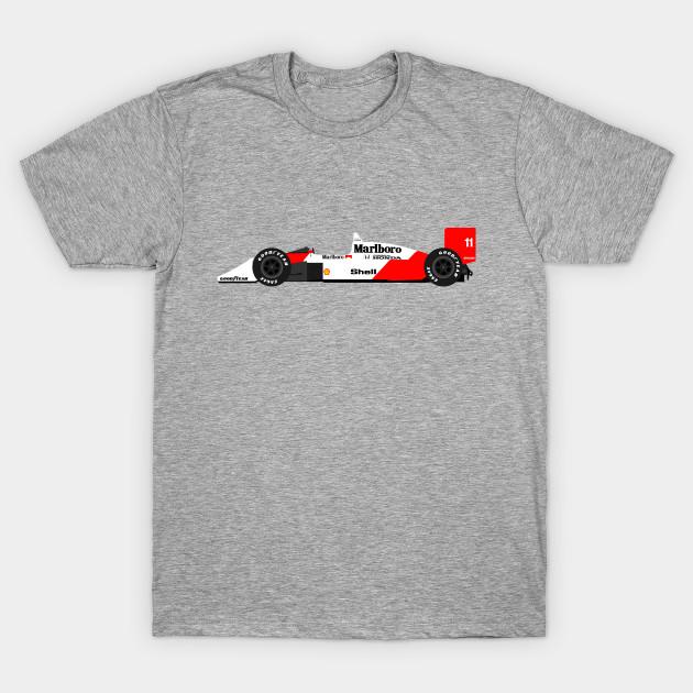 mclaren mp4/4 f1 alain prost - formula one - t-shirt | teepublic