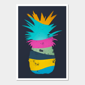 Ananas Posters And Art Prints Teepublic