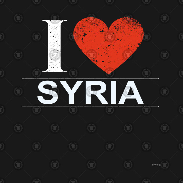 I Love Syria - Gift for Syrian From Syria