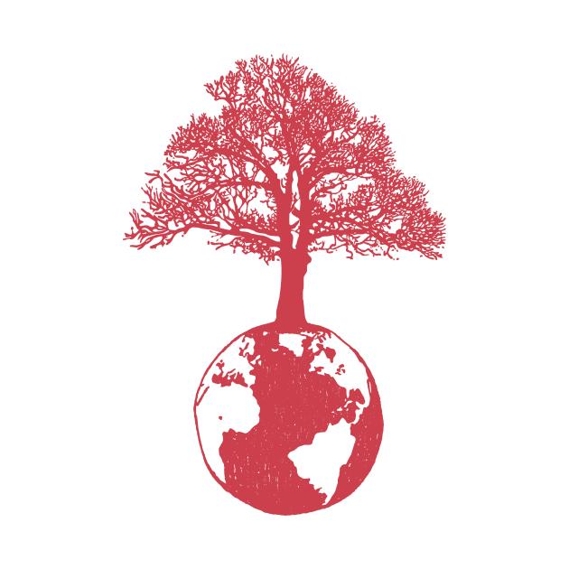 One big tree on earth
