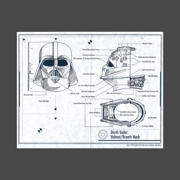 Darth Vader Helmet Breath Mask
