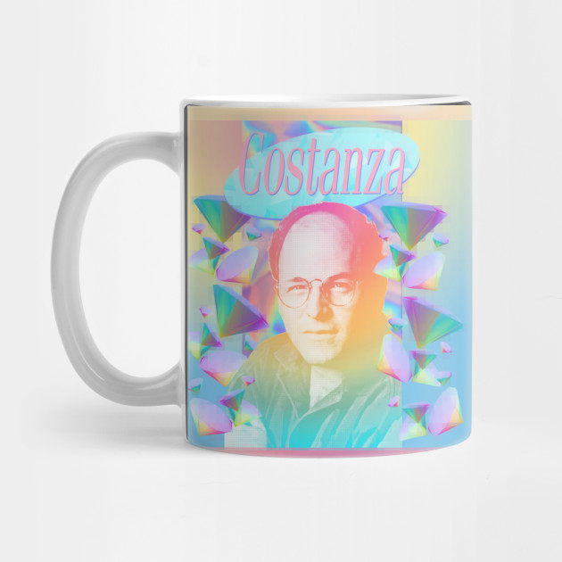 George Costanza / VApOrwave AesthetiC 90s Tribute Styled Design