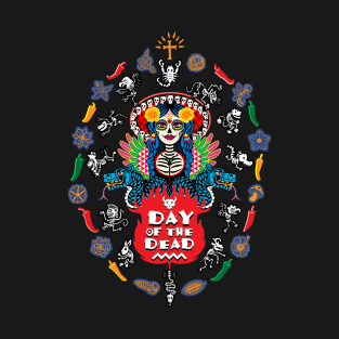 Day of the Dead! t-shirts