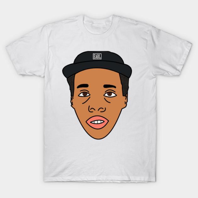 Earl Sweatshirt - Odd Future - T-Shirt | TeePublic Earl Sweatshirt Stencil