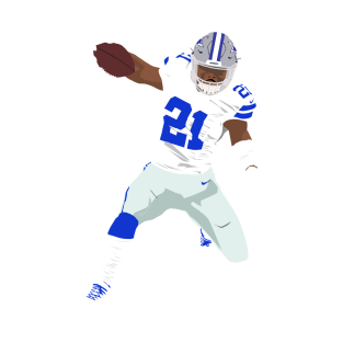 hot sale online 6792e 65da9 Ezekiel Elliott T-Shirts | TeePublic