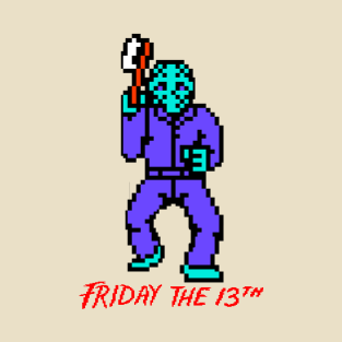 Friday the 13th NES Tee t-shirts