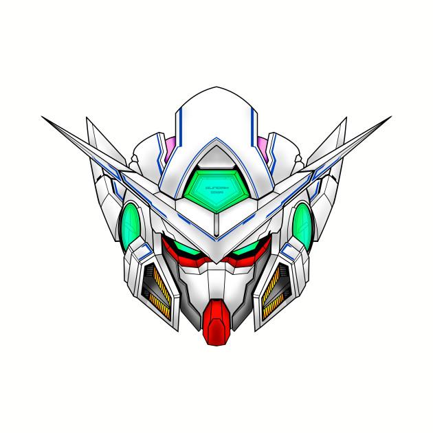Gundam Exia Head