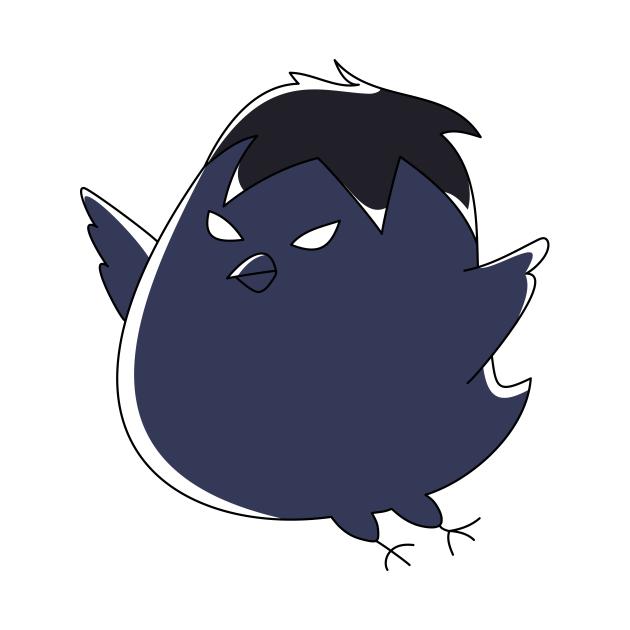 chibi crow kageyama