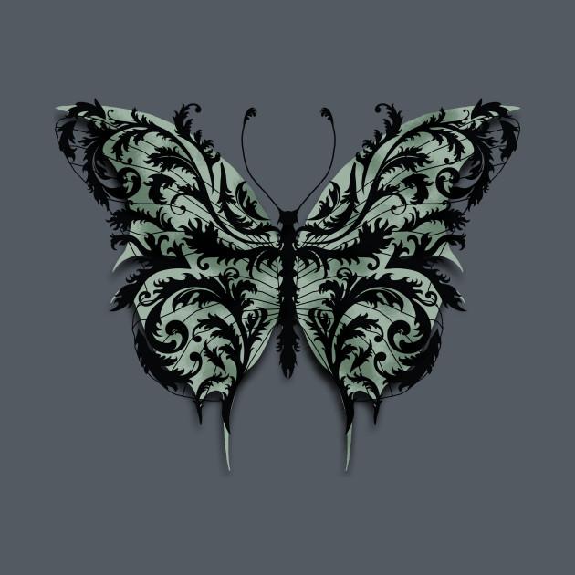 Eartheerian Baroque Butterfly (Green Version)